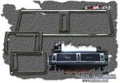 Kromramar W202 fläktutblås 3st