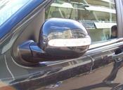 Spegelkåpa med klarglas blinkers