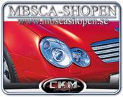 Kromringar till Framlyktor. 2st Sport coupe