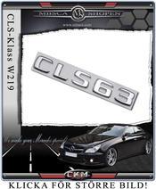 Emblem CLS63