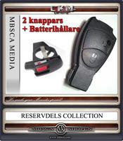 Nyckelskal + batterihållare 2 knappars 1st