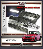 Klarglas DRL LED Diodlysen 08-12 2st
