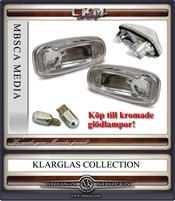 Klarglas Sidoblinkers Facelift V2 2 st