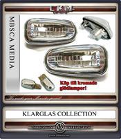 Klarglas Sidoblinkers Facelift 2 st