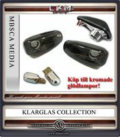 Klarglas Sidoblinkers facelift smoke V2 2 st