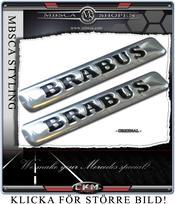 Brabus Emblem i krom 1st Original