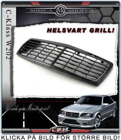Avantgarde Grill 6 ribbor HELSVART