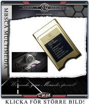 Multimedia PCMCIA minners kortläsare