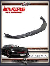 1. SLS Kolfiber frontläpp 1st