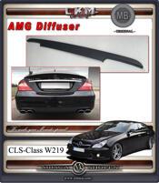 2. Diffuser AMG original för 4 pipor.