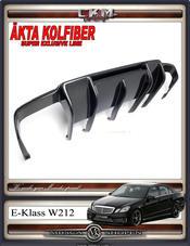 2. Diffusor i äkta kolfiber till E63 Super Version 1 st