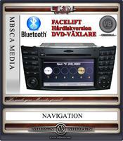 C2c. Comand APS 2.5 NTG med DVD-växlare och 40 gb hdd
