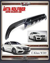 1. Kolfiber diffuser AMG sport 1st