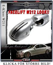 """Spegelkåpor med blinkers """"W212 LOOK"""". 06-09"""
