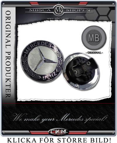Huv Emblem för ersättning av stjärna. MB Orginal.
