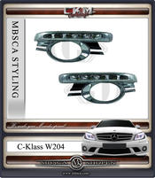 W204 Diodlysen för kofångare V2