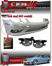 """1. CKM """"E55 AMG look"""" front"""