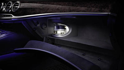 Mercedes Fragrance system. Doftsystem.