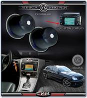 C4a. Knapp till Comand System 2.0 Mercedes Orginal för W203 / W209