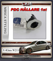 """1. CKM """"E63 AMG look"""" front PDC HÅLLARE 1st"""