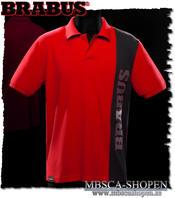 Brabus Polo-shirt röd