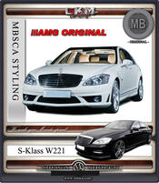 1. W221 AMG ORGINAL S65 Styling Kit