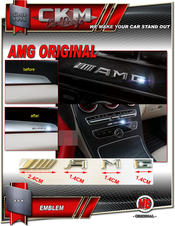 AMG edition interiör emblem 1st MB Original