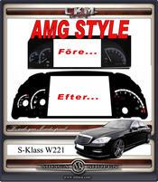 AMG STYLE instument platta bensin