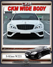 1. CKM WIDE BODY kit