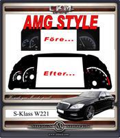 AMG STYLE instument platta Diesel
