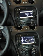 C4a. Comand System NTG 2.5 DVD-växlare  Mercedes Orginal för R230