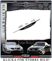 SLK Special Edition Emblem 1st