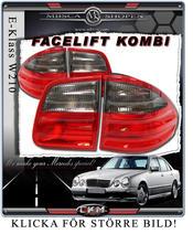 Bakljus Facelift Röd/Smoke KOMBI!.
