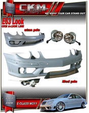 """1. CKM """"E63 AMG look"""" front"""