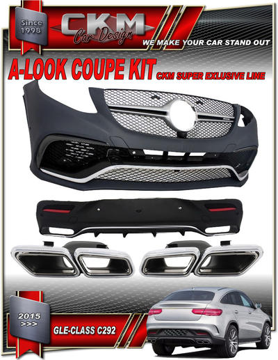 1. GLE63 look facelift bodykit COUPE