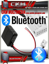 BLUETOOTH audio streaming via AUX kit