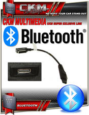 BLUETOOTH audio streaming via media ingång kit