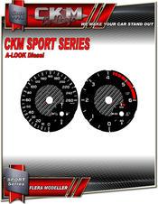 Mätartavlor sport km/h 260km/h  Diesel