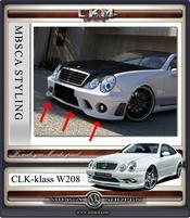 1.CKM frontspoiler med i AMG look