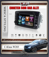 "C4. Comand enhet i ""MB LOOK"" DVD NAVI Bluetooth Touch Screen mm.."