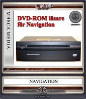 C2d.DVD naviläsare för Comand APS E-clas W211 och CLS W219