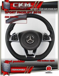 1. Ratt sport original FACELIFT 2016 RÖD sömm Skinn/Perforetat