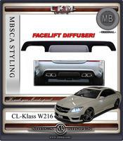 1. Diffusor till CL63/CL65 AMG FACELIFT MB original