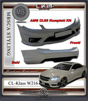 1. AMG ORIGINAL komplett Beggat CL63/CL65 AMG kit