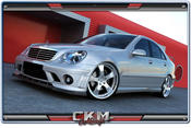 1. CKM Spoiler kit 6 delar C63 AMG look