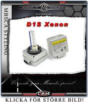 Xenon D1S reserv lampa för bilar med orginal monterade Xenons