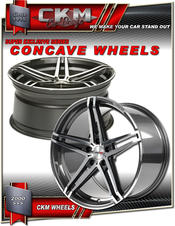 """20"""" CKM Xtreme concave."""
