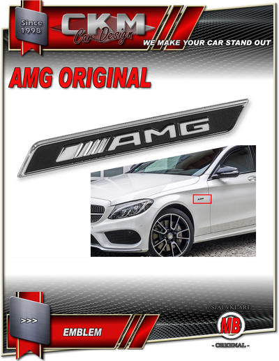 AMG edition emblem 1st MB Original