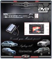 DVD-spelare och styrdonpaket för comand 2.0 & 2.5