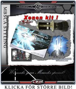 Xenon Kit HID komplett. Bi-Xenon H4.